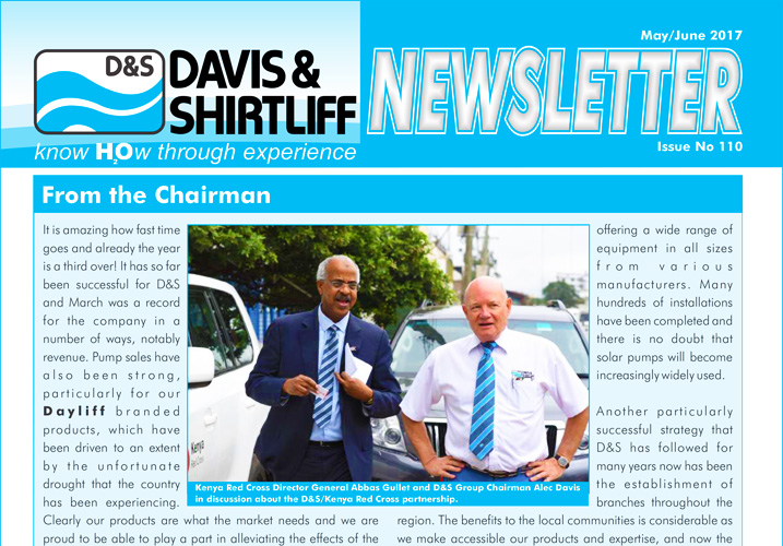Davis and Shirtliff Corporate Newsletter Issue 110