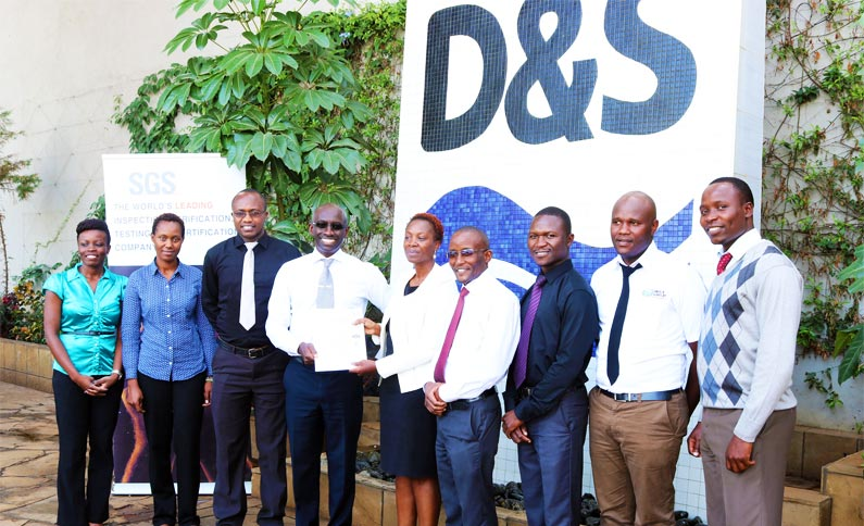 Davis and Shirtliff ISO 9001 2015 Certificate Presentation