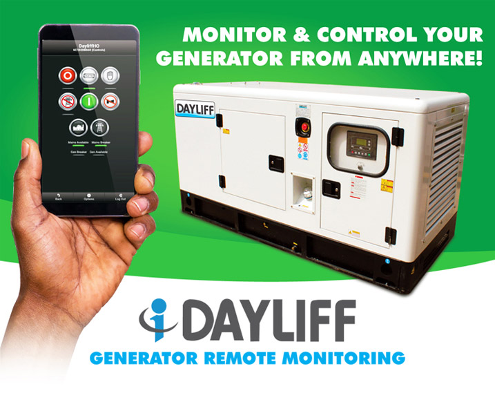 Monitor and Control your Generator from Anywhere with the iDayliff Generator Remote Monitoring