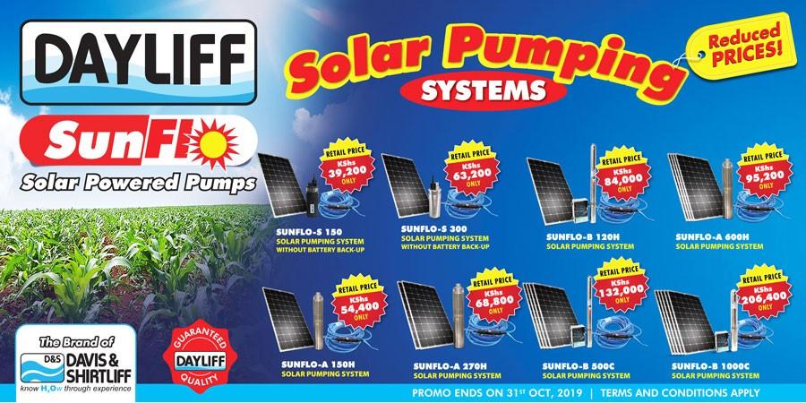 Solar SUNFLO Pumps