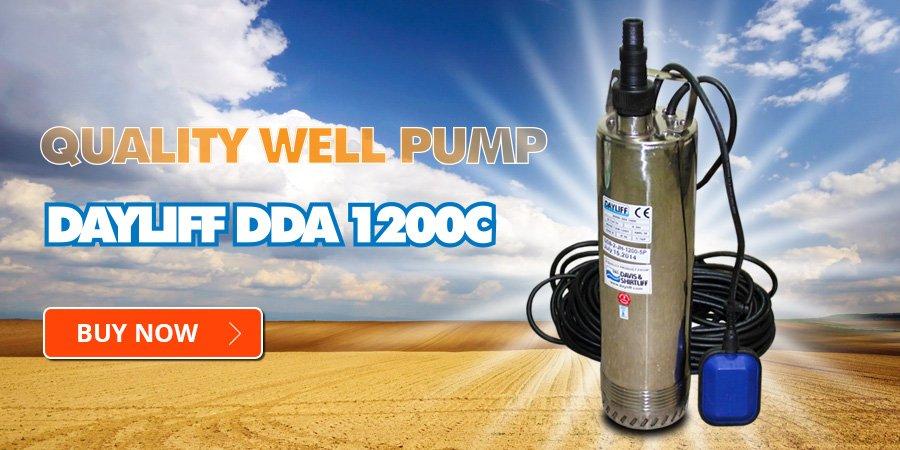 Dayliff DDA 1200C Quality Well Pump