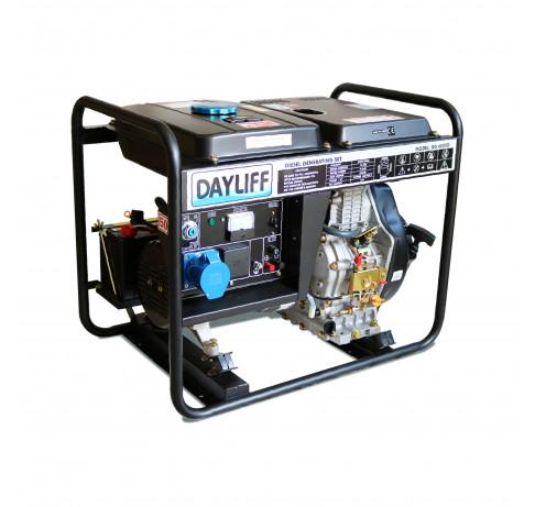 Dayliff DG6000D 4.5kVA Diesel Generator